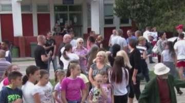 Протест в Сърбия срещу деца-мигранти в училищата