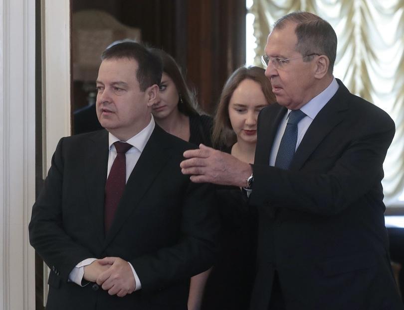външният министър сърбия посещение москва