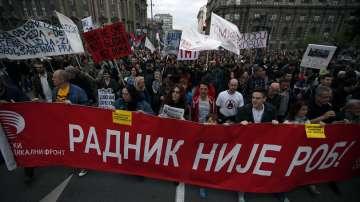 В Сърбия ще има протести и по време на великденските празници