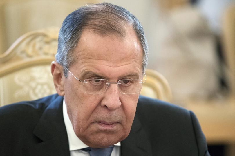 руският външен министър сергей лавров пристига белград