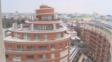 Фасада на сграда в София пречиства въздуха