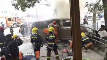 Катастрофата в Шанхай не е терористично нападение, съобщиха китайските власти