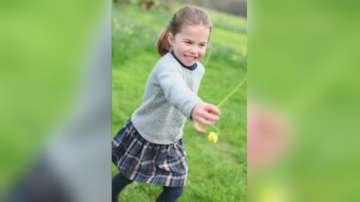 Британското кралско семейство разпространи нови снимки на принцеса Шарлот