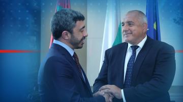 Министърът на външните работи на Обединените арабски емирства е в София
