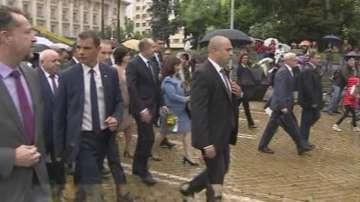 Празничното шествие в София по повод 24 май тръгна от Президентството