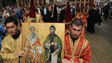 Празнично шествие в София по повод 24 май