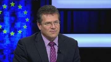 Марош Шевчович пред БНТ за енергийната стратегия на ЕС