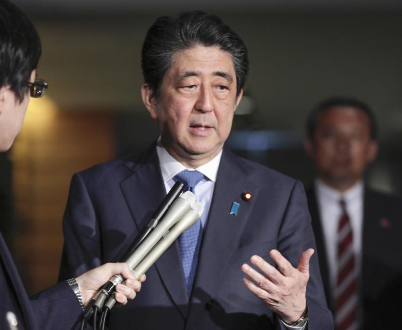 Японският премиер Шиндзо Абе отпътува днес на петдневна обиколка в