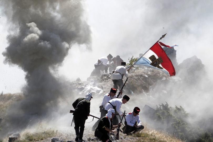 снимка 6 141 г. от Шипченската епопея, решила края на Руско-турската освободителна война