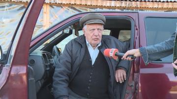 Възрастен шофьор навлезе в пешеходна зона в Разград