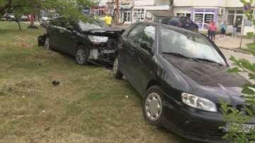 Пиян шофьор потроши три коли във Веллико Търново