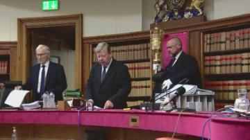 Шотландски съд определи за незаконно спирането на работа на парламента в Лондон