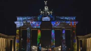 Уникално 3-Д лазерно шоу в София по случай Деня на Европа - 9 май