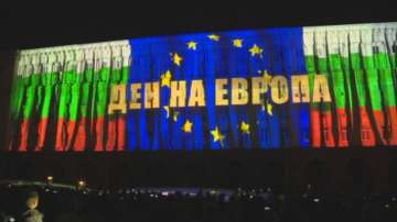 Отбелязахме Деня на Европа с най-голямото досега мултимедийно шоу в България