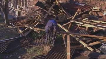 Ремонти в Карлово след ураганния вятър