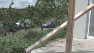 Бурята нанесе сериозни щети на реколтата в Русенско