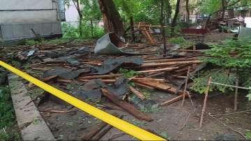 Оценяват щетите след бурята в Пловдив