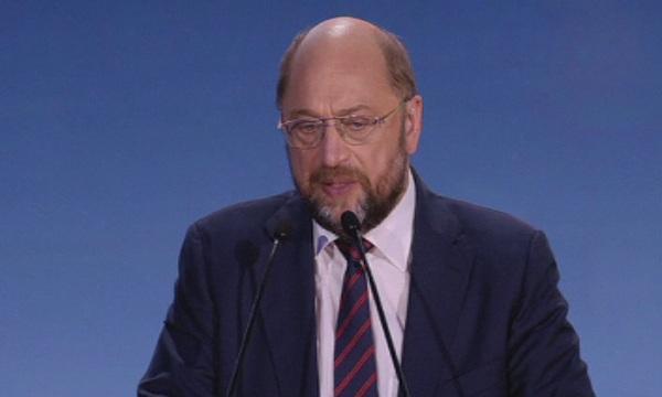 Председателят на Социалдемократическата партия на Германия Мартин Шулц, който трябваше