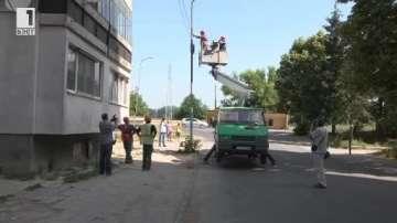 Акция срещу незаконните кабели в Шумен
