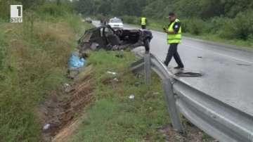 Млад мъж загина в катастрофа на пътя Шумен – Силистра