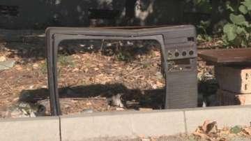 Автобусна спирка Телевизор в шуменския квартал Тракия