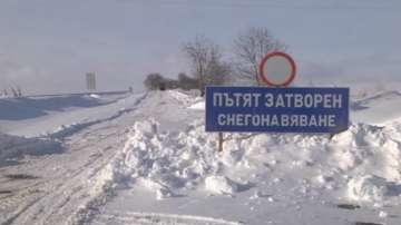 Сложна остава зимната обстановка в Шуменска област