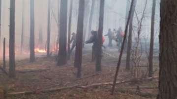 Пожари унищожиха големи площи в Сибир