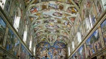 Микеланджело може да е скрил феминистки код във фреските на Сикстинската капела