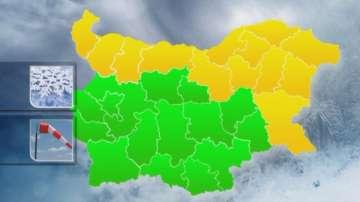 Лошото време обхваща цяла Северна България