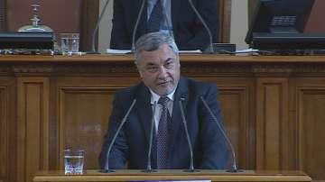 Валери Симеонов: Най-висшата цел ще бъде защитата на националните интереси