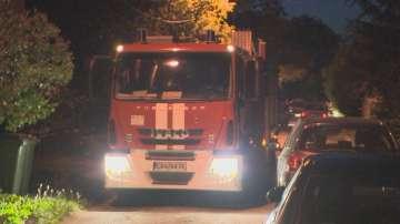 Няма пострадали при пожара в хостел на столичната улица Княз Борис