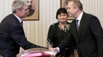Предствител на международен синдикат на среща с президента Румен Радев