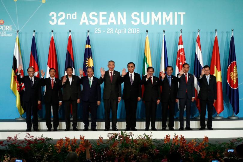 сингапур започна среща асеан