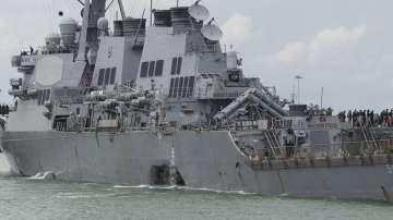 Намериха телата на десетимата американски моряци край бреговете на Сингапур