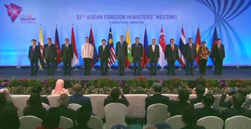 Първите дипломати на държавите от Югоизточна Азия обсъдиха въпроси, свързани