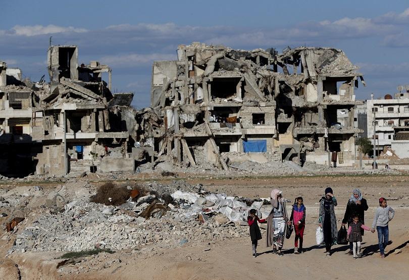 Изтичащата 2018-та е годината с най-малко жертви в Сирия от