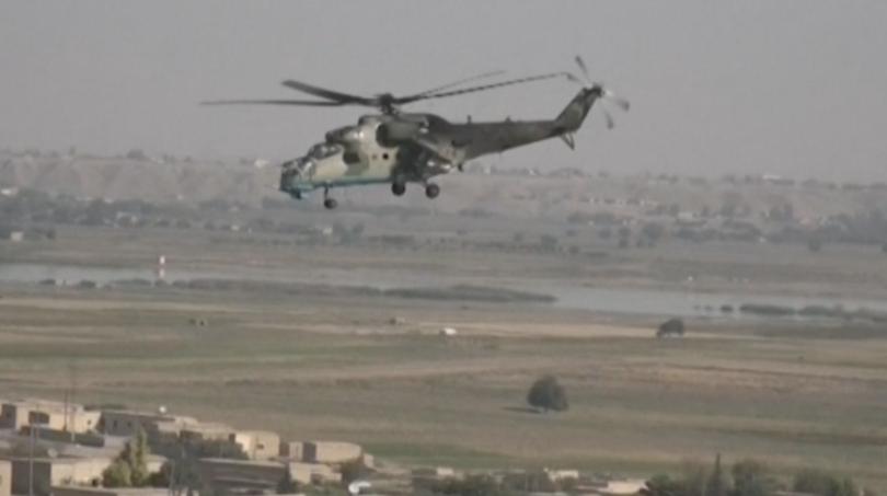 Снимка: Руски части навлязоха в поредна изоставена американска база в Сирия