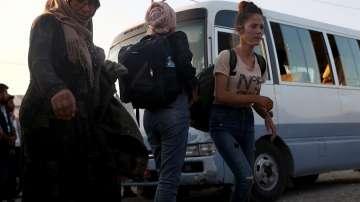 Над 300 000 цивилни са изселени след турската офанзива в Сирия