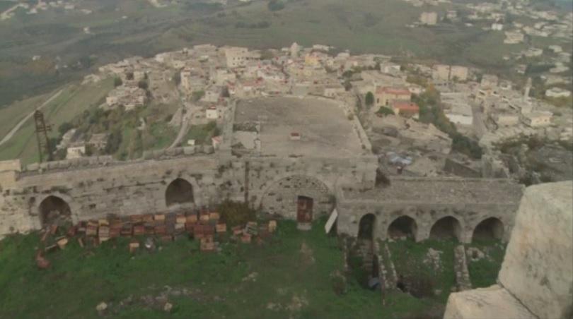 Снимка: Средновековен рицарски замък в Сирия се нуждае от спешна реставрация