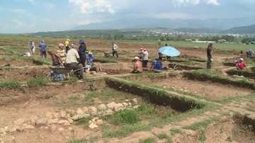 """Протест в защита на античния град Скаптопара на АМ """"Струма"""""""