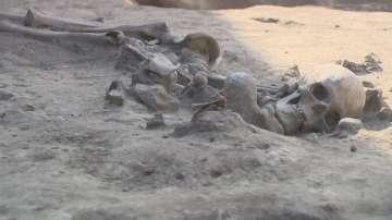 Откриха скелет на около 7000 години в столичния квартал Слатина
