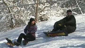 Вълчи дол - събирателната точка на скиорите от Североизточна България