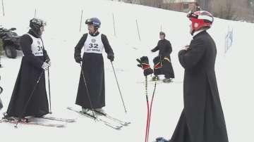 Ски състезание за свещеници се проведе в Полша