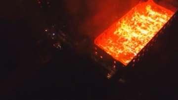 Свидетел на пожара в тютюневите складове: Палежът е умишлен
