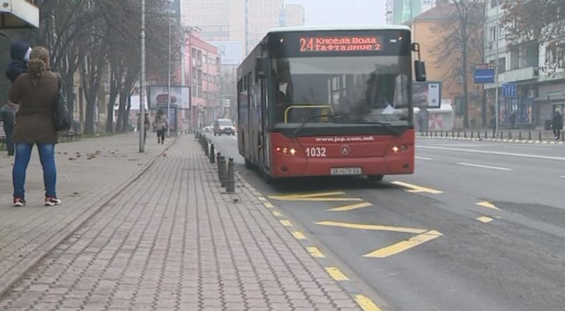 Общественият транспорт в град Скопие става безплатен от днес и