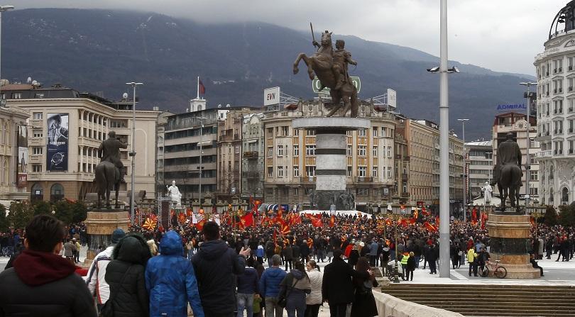първи коментар дипломацията скопие оставките гръцкия кабинет