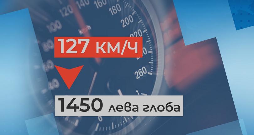 Шофиране със 127 километра в час по пловдивски булевард. Рекордното