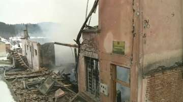 Пожар унищожи кметството на гърменското село Скребатно