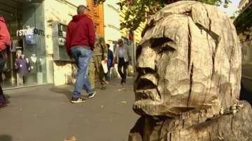 Нов вид изкуство връща живота на изсъхнали дървета в Рим