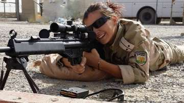 Лейтенант Желязкова - първата българка, ръководила взвод за охрана в Афганистан